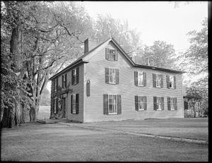 Munroe Tavern (Lexington, Massachusetts) - Image: Munroe Tavern, Massachusetts Avenue, Lexington, Mass