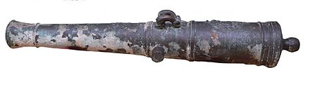 Naval cannon, early 19th century MuseeMarine-canonBronze-p1000434.jpg