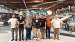 Museo Caproni wikigita and editathon - August 2016 - group photo.jpg