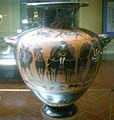 Museo archeologico di Firenze, Hydria con quadriga 550-540 a.c.JPG
