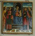 Museo di san matteo, domenico ghirlandaio, madonna col bambino e santi 02.JPG