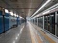 Myeongdeok station platform Daegu metro line 1 - 20180522 090457.jpg