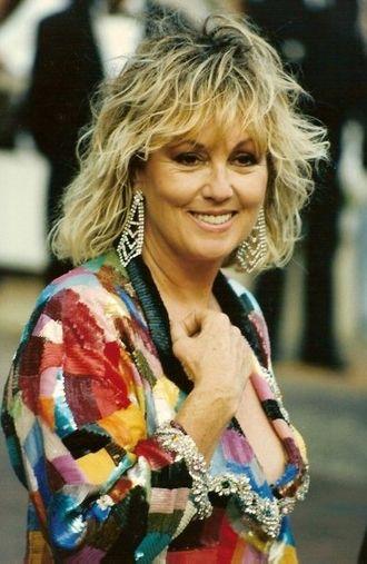 Mylène Demongeot - Mylène Demongeot at the Festival de Cannes 1990.