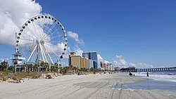 Ferris wheel in Myrtle Beach
