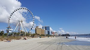 Myrtle Beach, South Carolina - Ferris wheel in Myrtle Beach