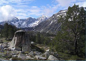 Néouvielle National Nature Reserve - Image: Néouvielle massif
