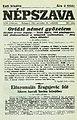 Népszava esti kiadása (1914. november 26.).jpg
