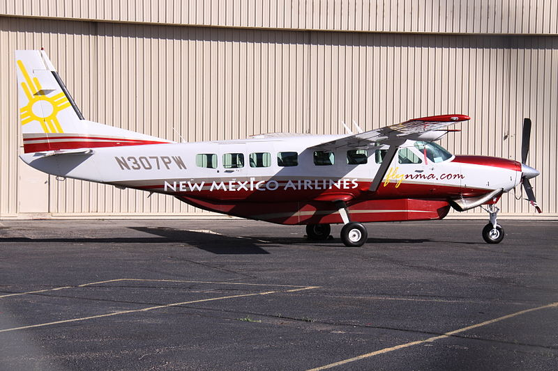 File:N307PW Cessna Ce.208B New Mexico Airlines (8735392263).jpg