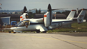 Bell XV-15 - XV-15 at 1981 Paris Air Show