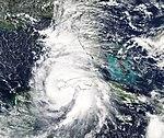 NASA's Aqua Satellite Sees Hurricane Michael Strengthening (44296315195).jpg