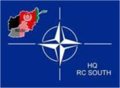 NATO Regional Command South, Afghanistan insignia.png