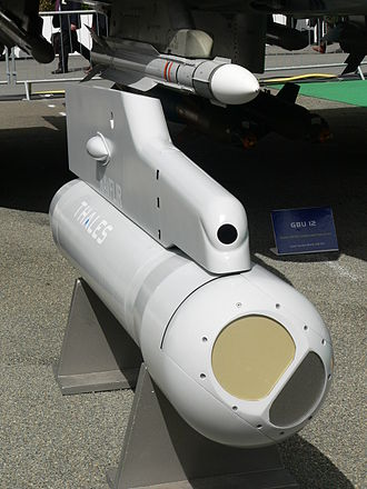 Forward looking infrared - A Thales Damocles FLIR Targeting Pod.