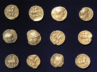 Illyrian coinage - Silver tetradrachms dated back to the reign of Patraus.
