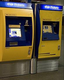 ns kaartautomaat