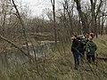 NTIR Staff explain details about Rock Creek Crossing in Council Grove, KS - 1 (cdf76ebe7abb46a3a5bae87fd4dce736).JPG