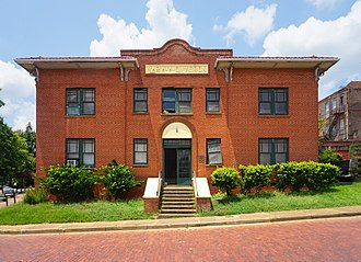 National Register of Historic Places listings in Nacogdoches County, Texas - Image: Nacogdoches August 2017 30 (Maria A. Davidson Apartments)
