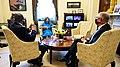 Nancy Pelosi meeting with John Bel Edwards and Troy Carter - 2021.jpg