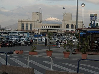 Port of Naples - The maritime station