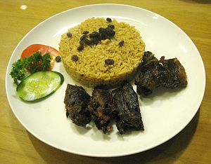 Nasi kebuli - Image: Nasi Kebuli Jakarta