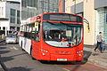 National Express West Midlands 2142 on Route 98, Birmingham Bullring-Queensway (15164950377).jpg