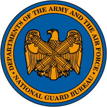 Seal of the National Guard Bureau.