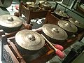 National Museum of Ethnology, Osaka - Gamelan Salendro - Sunda people in Indonesia - Collected in 2003.jpg