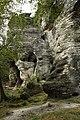 Natural monument Tiské stěny, summer 2014 (10).JPG