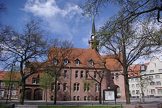 Nauen Place in Brandenburg, Germany