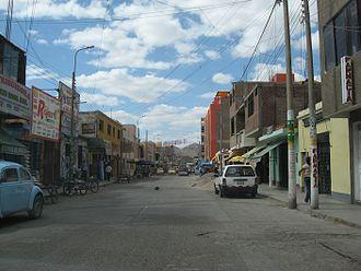 Nazca - The city of Nazca