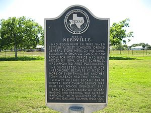 Needville Texas Wikipedia