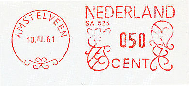 Netherlands stamp type G1.jpg