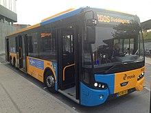 blå busser køreplan