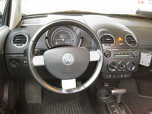 Volkswagen New Beetle - Interior