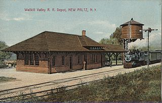 vintage train station postcard for you