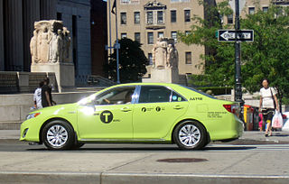 taxicab of New York City, US
