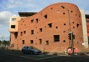 York St John University - Image: New building for York St John University geograph.org.uk 995320