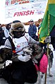 Newton Marshall and Larry at Iditarod finish (4458483399).jpg