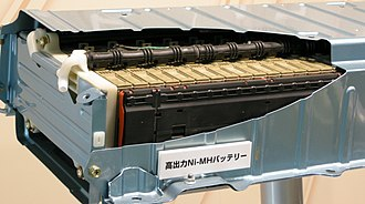 Hybrid Synergy Drive - High voltage nickel-metal hydride (NiMH) battery of second generation Toyota Prius.