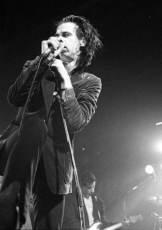Nick Cave - Cave performing in Belgium, 1986