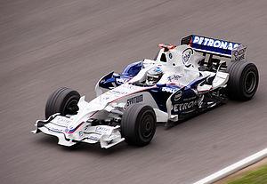 BMW Sauber F1.08 - Image: Nick Heidfeld 2008 test
