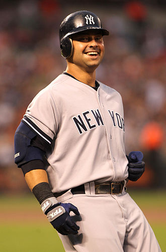 Nick Swisher - Swisher during a game for the New York Yankees in 2011