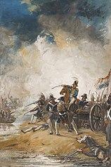 1793, oorlogsverklaring Frankrijk aan de Republiek - bloedig gevecht bij de Moerdijk