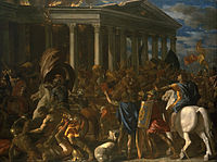 Nicolas Poussin - The Destruction and Sack of the Temple of Jerusalem - Google Art Project.jpg