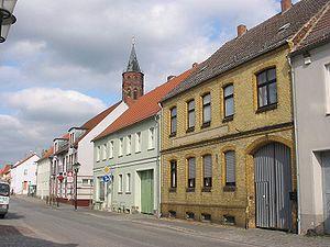 Niemegk - Main road