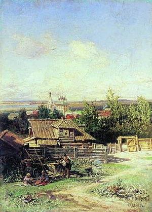 1878 in Russia - Nikolay Makovsky vid na Volge