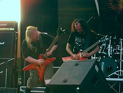 Karl Sanders (sx) e Dallas Toler-Wade (dx) all'Evolution Festival 2006.