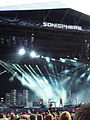 Nine inch nails at uk sonisphere knebworth 2009.jpg