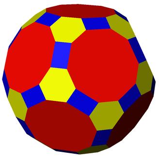 Truncated icosidodecahedron - Image: Nonuniform truncated icosidodecahedron