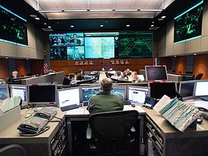 Tactical operations center - NORAD Tactical Operations Center (TOC)