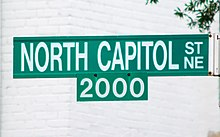 North Capitol Street sign - Washington DC.jpg